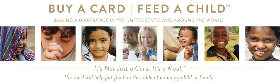 Buy A Card Feed A Child