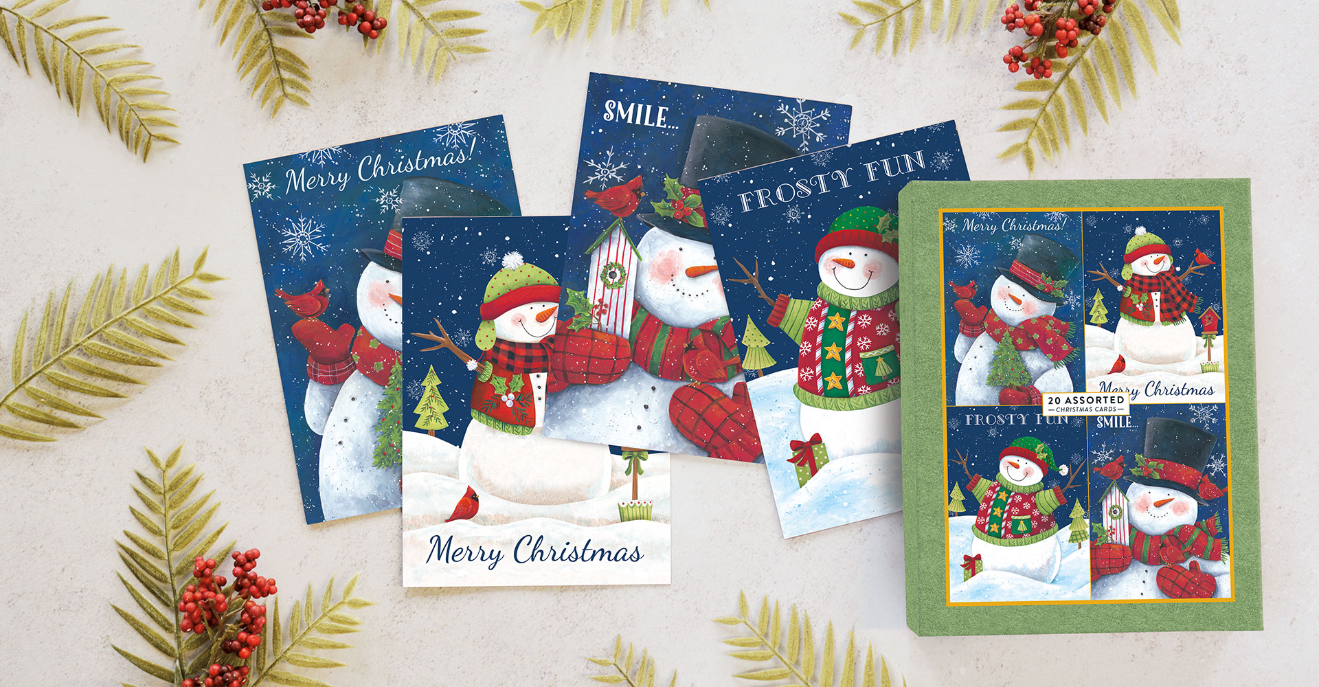 Assorted Boxed Holiday Cards