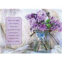 Lilacs in Glass Jar