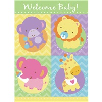 Baby Animals 4 Square