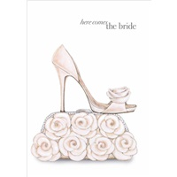 Bride Shoe with Purse