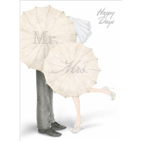 Mr & Mrs Umbrellas