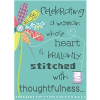 Stitched with Thoughtfulness