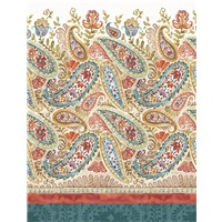 Spiced Nature Paisley Border