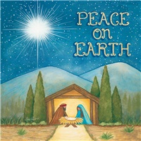 Peace On Earth Manger
