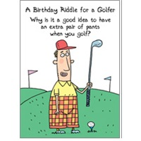 Riddle for Golfers