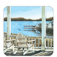 Porch with Boats