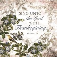 Sing Unto the Lord