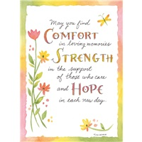 Comfort, Strength, Hope