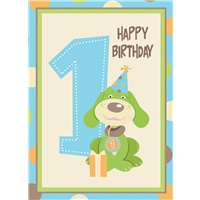 Green Dog Birthday