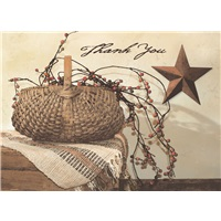 Berry Basket with Star
