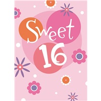 Sweet 16 in Pink
