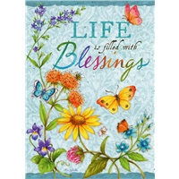 Flowers and Butterflies Blessings