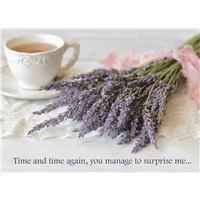 Lavender with Tea