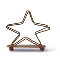 Star Shaped Wire Coaster Holder