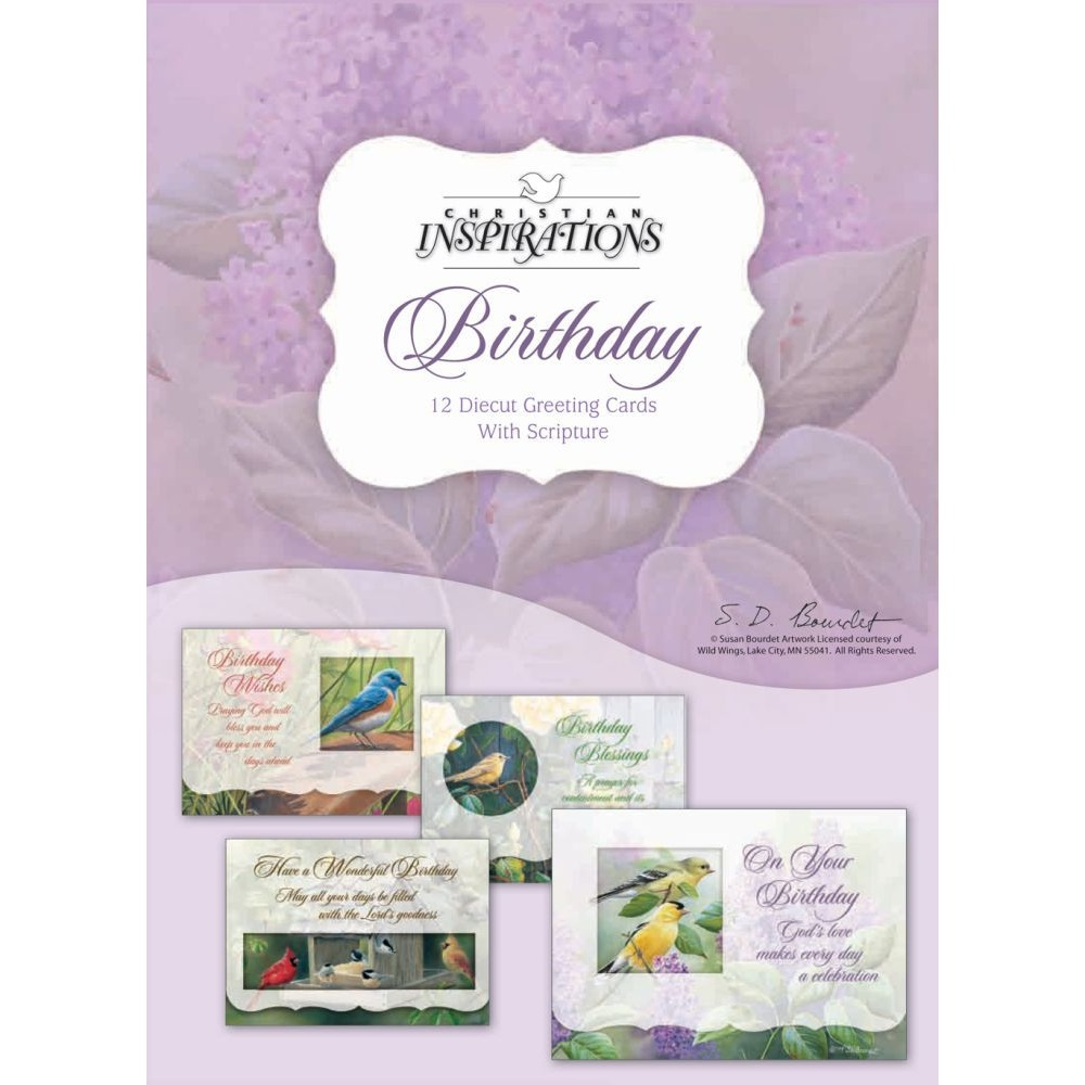 Birthday Boxed Greeting Cards Ci20212