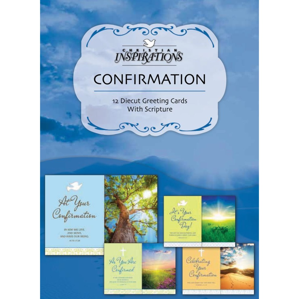 Confirmation Boxed Greeting Cards Ci20596