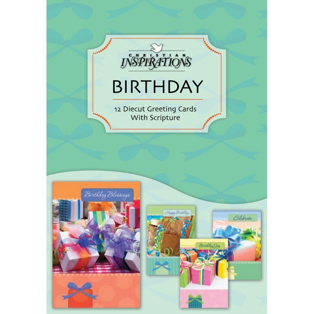Birthday Boxed Greeting Cards CI20979
