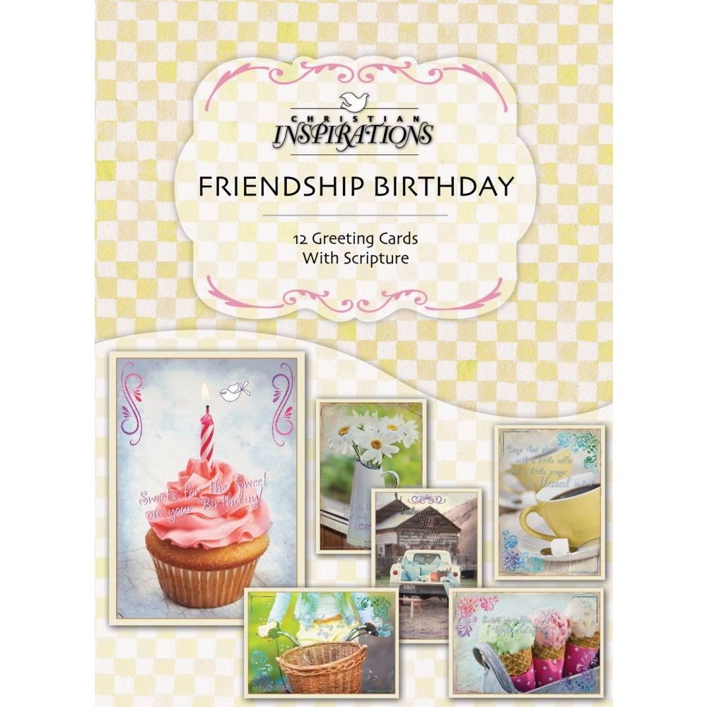 Birthday friendship boxed greeting cards ci22316 m4hsunfo