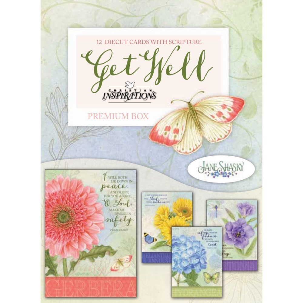 Get Well Boxed Greeting Cards Ci22391
