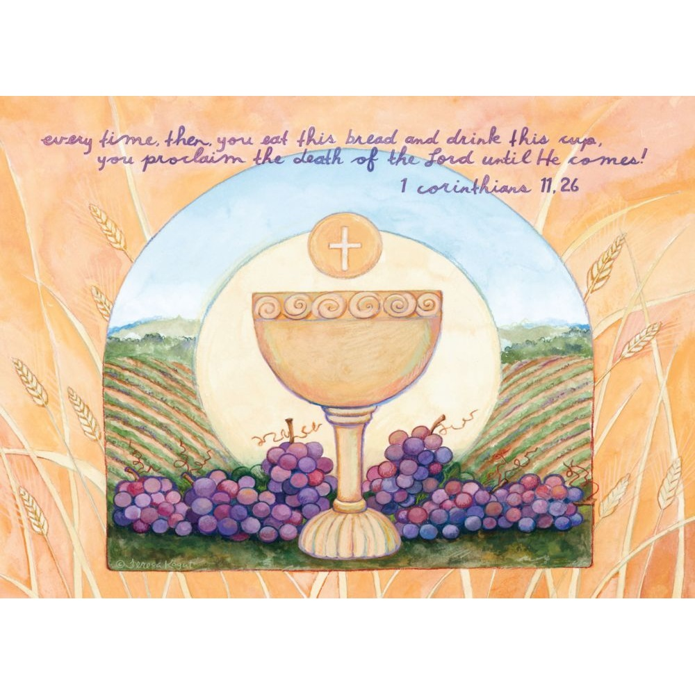 Legacy Of Faith First Communion Greeting Cards Spc2601