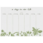 A Day in the Life  Planner Pad ADL37854