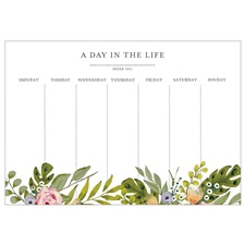 A Day in the Life  Planner Pad ADL45740
