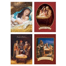 Assorted Holiday Card Set AHS40747