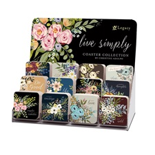 Live Simply, Coaster Collection
