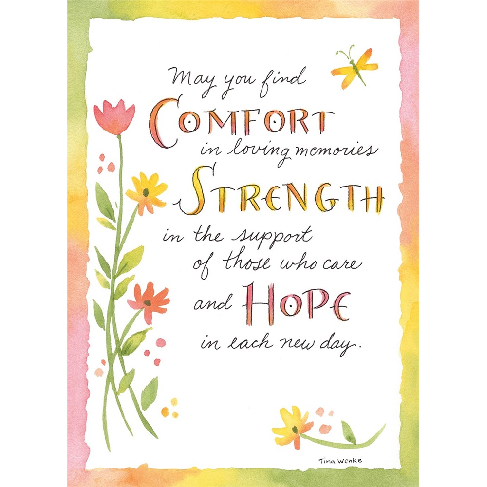 Legacy sympathy greeting cards gcd12680 comfort strength hope sympathy gcd12680 kristyandbryce Images