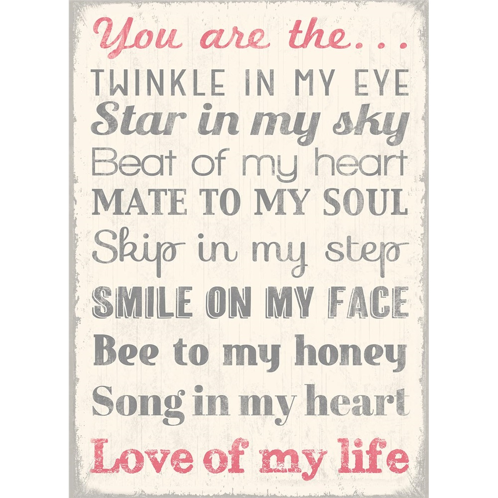 you are the love of my life song