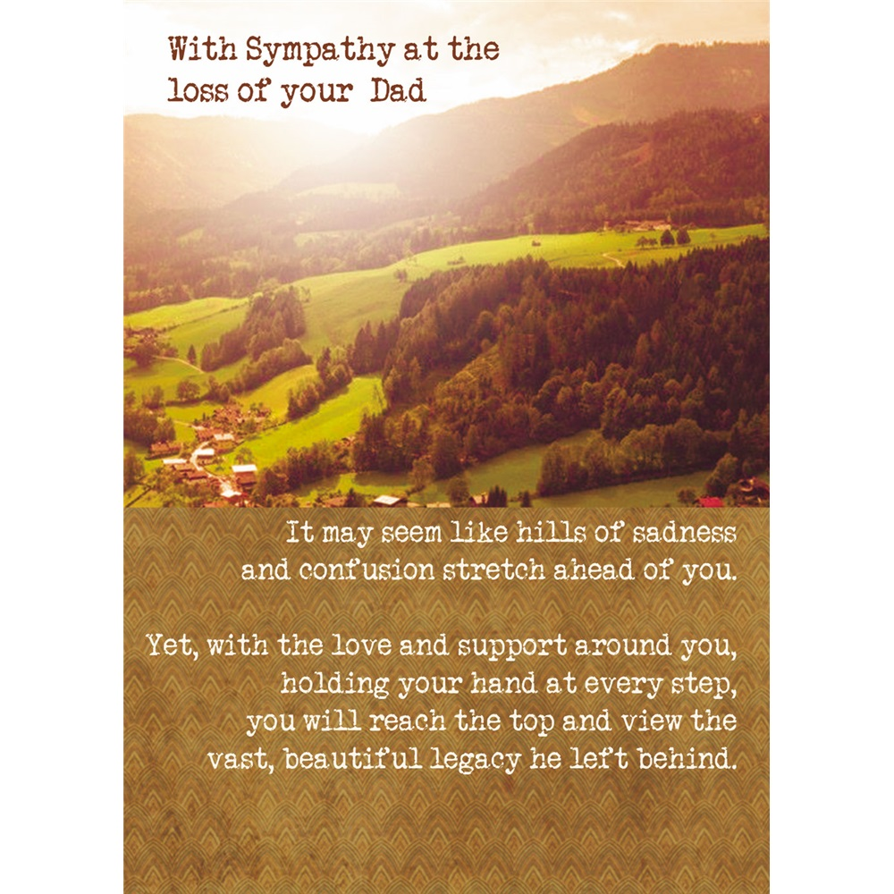 Sympathy Quotes For Loss Of Husband And Father: Father GCD25396