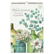 Mixed Greens 2019 Large Wall Calendar LWC46595
