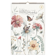 Handmade by Lisa 2019 Large Wall Calendar LWC46637