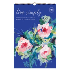 Live Simply 2020 Large Wall Calendar LWC52613