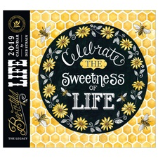 Bee-u-tiful Life 2019 Mini Wall Calendar MCA45610