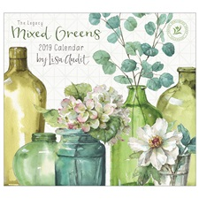 Mixed Greens 2019 Mini Wall Calendar MCA46595