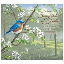 Songbirds of Faith 2019 Mini Wall Calendar MCA46818