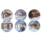Christmas Collection Rerversible Assorted Coaster Set RCS40362
