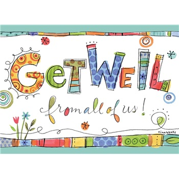 Get Well - From Group SCD12625