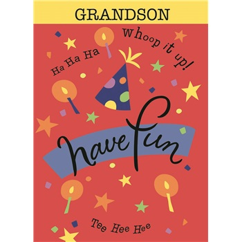 Birthday - Grandson - Juvenile SCD3418