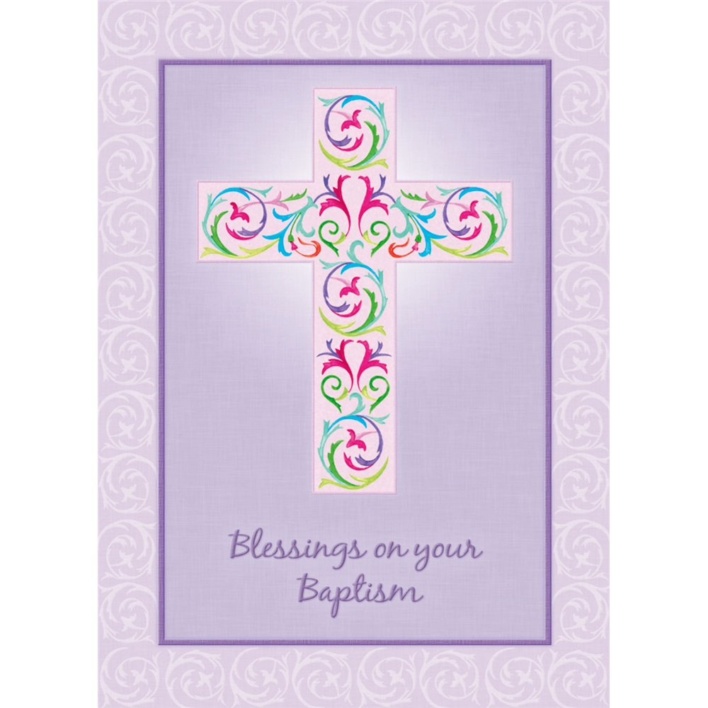Legacy Of Faith Baptism Greeting Cards Scd4858