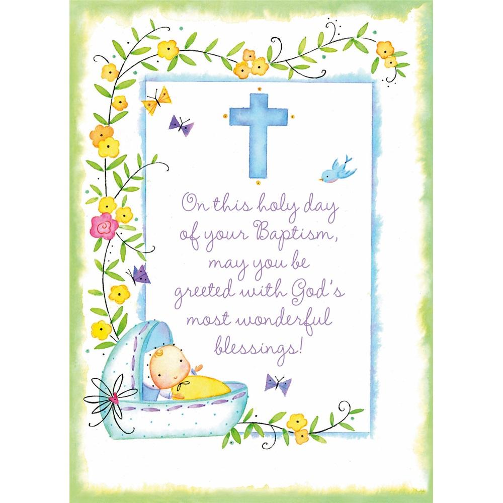 Legacy Of Faith Baptism Greeting Cards Spc5515