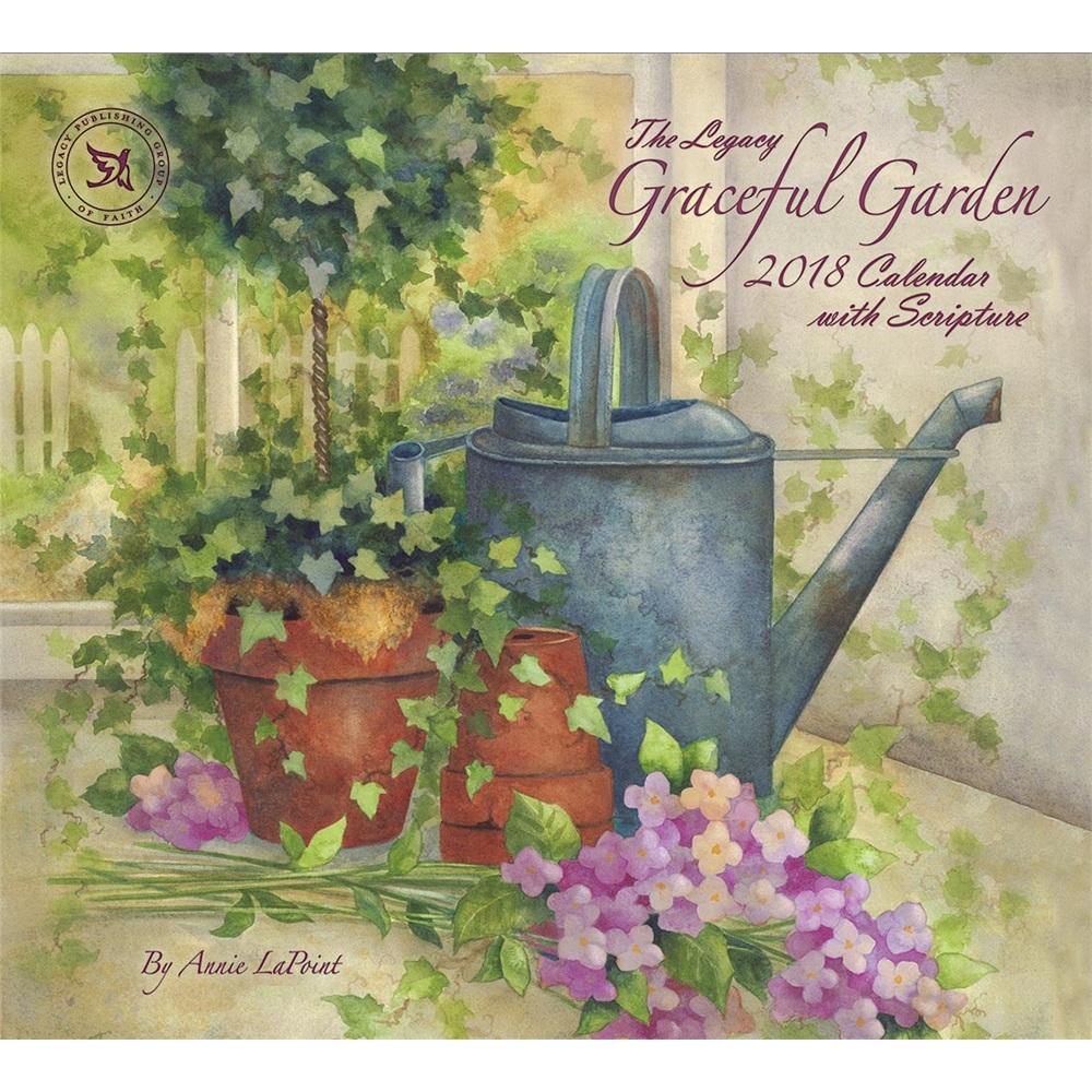 Secret Garden: Graceful Garden 2018 Wall Calendar WCA34373