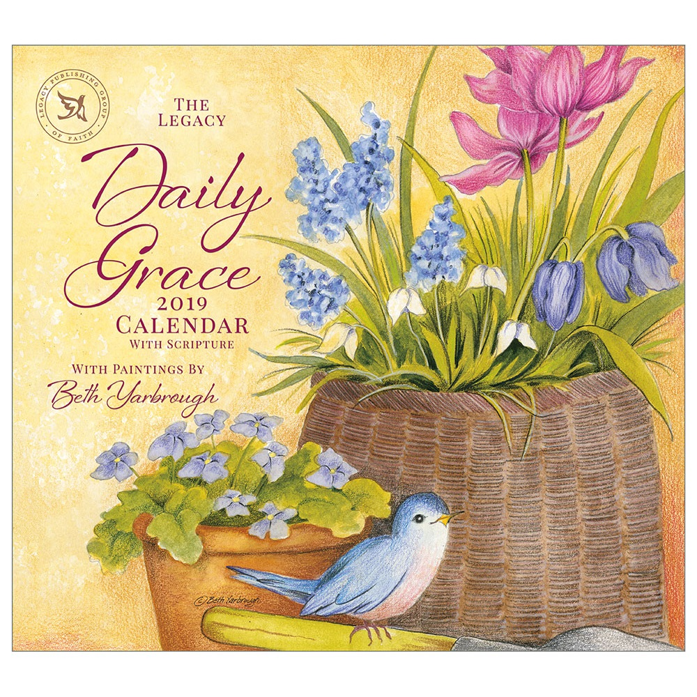 daily grace 2019 wall calendar wca43204