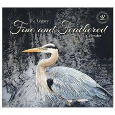 Fine and Feathered 2019 Wall Calendar WCA46203