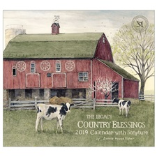 Country Blessings 2019 Wall Calendar WCA46708