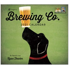 Brewing Company 2021 Wall Calendar WCA57324