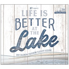 Life is Better at the Lake 2021 Wall Calendar WCA57384