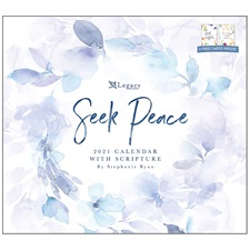 Seek Peace 2021 Wall Calendar WCA58356